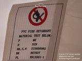 PVC tent brandvertragend certificaat TopTenten